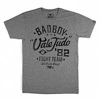 ФУТБОЛКА СПОРТИВНАЯ BAD BOY VALE TUDO GREY/BLACK