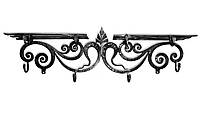 Вешалка настенная металлическая «Дуэт»