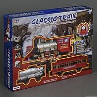 Детская железная дорога 186 ,свет, звук, дым, 13 деталей, на батарейке
