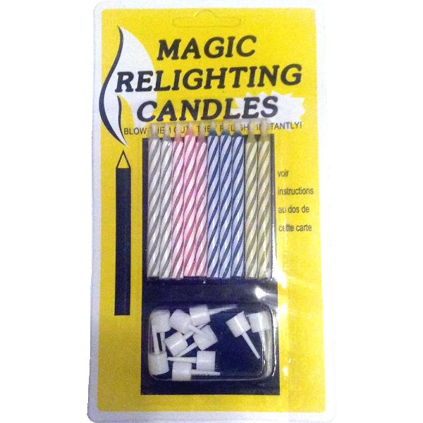 Незадуваемые свечи SoFun magic candles тортовые