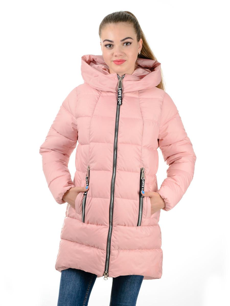 Пальто- Пуховик Женский Irvik Z22173 Розовый — в Категории