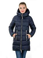 Пальто- пуховик женский Irvik Z22171синий, фото 1