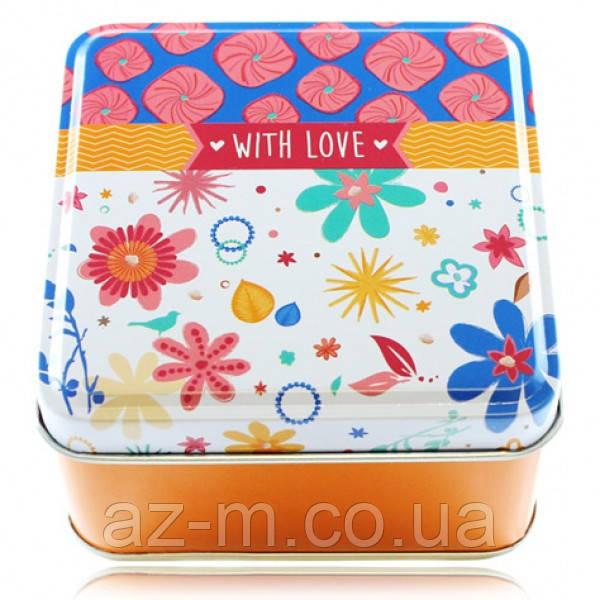 Коробка металлическая With Love