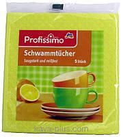 Губчаста ганчірка для кухні Denkmit profissimo Schwammtücher 5шт. (4010355653352)