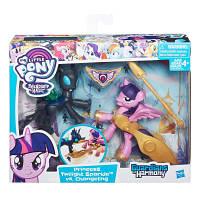 Пони Twilight Sparkle&Changeling «Хранители Гармонии» 2 фигурки с артикуляцией My Little Pony Hasbro (B7297)