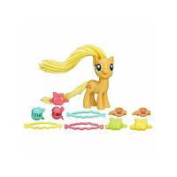 Пони с праздничной прической Applejack My Little Pony Hasbro (B9617)