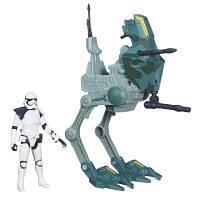 Космический корабль вселенной Звездные войны 9 5 см Класс І Assault Walker Star Wars Hasbro (B3717)