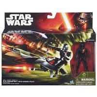 Космический корабль вселенной Звездные войны 9 5 см Класс І Elite Speeder Bike Star Wars Hasbro (B3718)