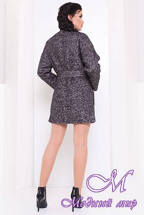 Короткое женское осеннее пальто (р. S, M, L) арт. Даная 16870, фото 2