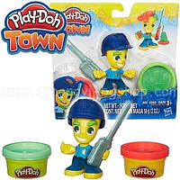 Игровой набор Фигурки Police Boy Play Doh Hasbro (B5979)