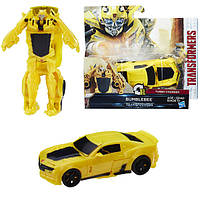Трансформеры 5 Уан степ 1 Step Turbo Changer Bumblebee Transformers Hasbro (C1311)