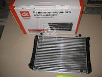 Радиатор водяного  охлаждения  ГАЗ 3302-1301010-01  2-х рядный  под рамку  42 мм производство Дорожная карта