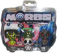 Набір ТМ MORBS: 3 игрушки-фигурки-трансформеры+ аксессуары в ассорт MORBS (20573)