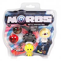 Набор ТМ MORBS: 4 игрушки-фигурки-трансформеры+ аксессуары в ассорт MORBS (20802)