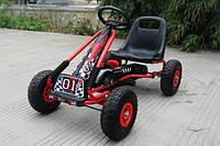 Детская педальная машина веломобиль Карт M 0645-3***