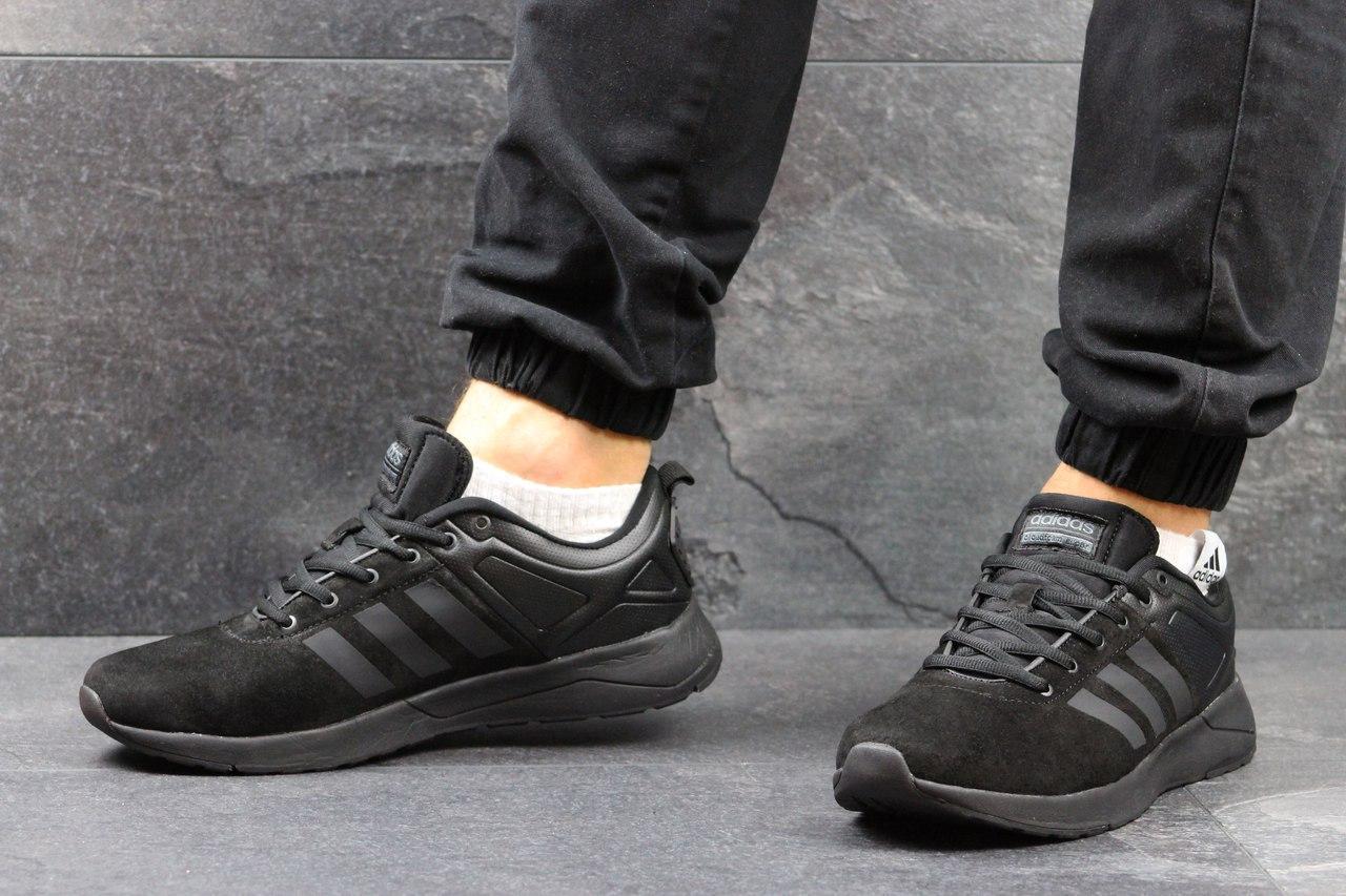 28503e2f Мужские кроссовки Adidas Cloudfoam Super черные 2989, цена 652 грн., купить  в Хмельницком — Prom.ua (ID#576363998)