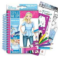 Блокнот для творчества с карандашами Мода с Золушкой WOOKY (02092)