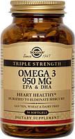 Triple Stength Omega-3 950 mg Solgar