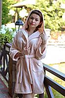 Женский домашний махровый халат