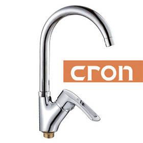 Смеситель для кухни CRON на гайке Chr-011G