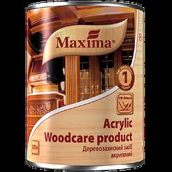 Деревозахистний засіб акрилове з УФ-фільтром Maxima, дуб 0,75 л