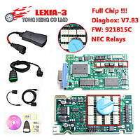Lexia 3 фул чип для Citroen Peugeot DiagBox v7,61