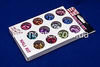 Набор ромбиков для дизайна ногтей, цветные 12 шт (маленькие), фото 1