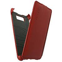 Чехол книжка для LG Optimus L7 P700, P705 вертикальный флип, Exclusive Красный