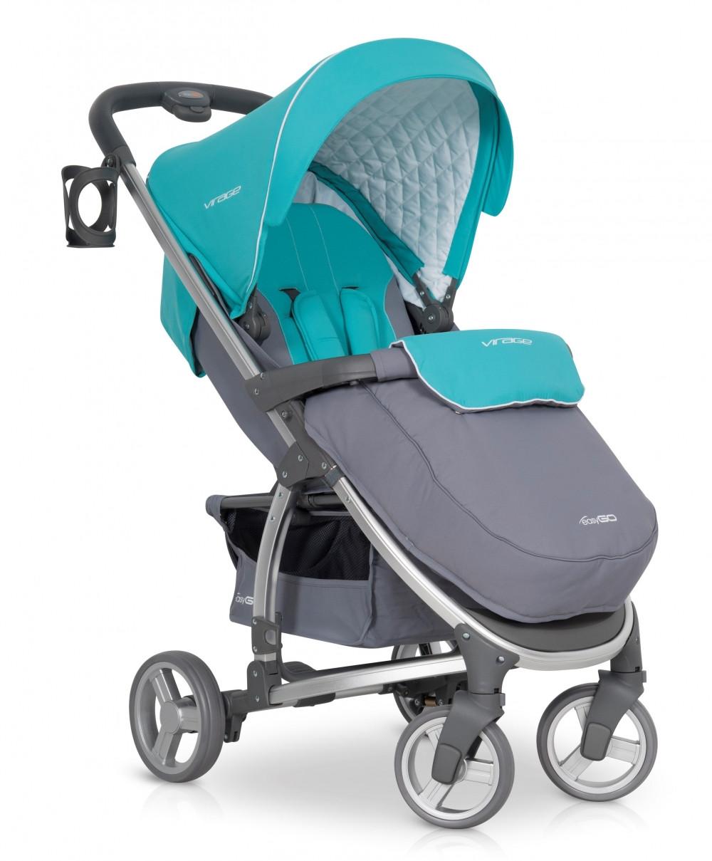 Детская прогулочная коляска EasyGo Virage malachite