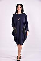 Платье туника из трикотажа  Разные цвета +Индивидуальный пошив