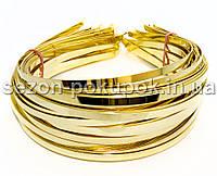 Обруч металлический (5мм) Цвет - золото Цена за 50 шт