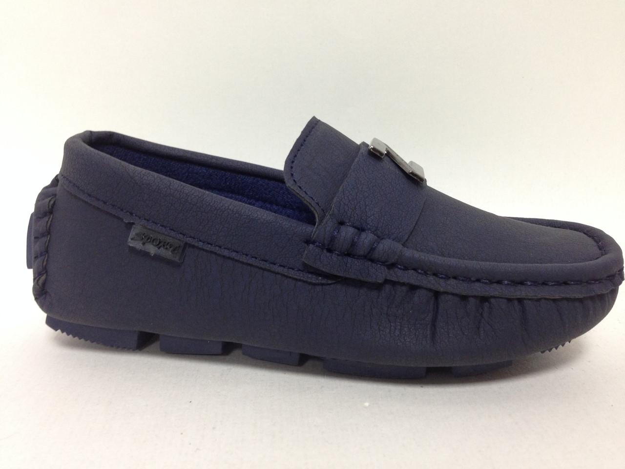 Туфли подростковые кож-зам