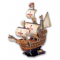 Конструктор CubicFun Корабль Санта Мария (T4008h)