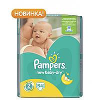 Подгузник Pampers New Baby-Dry Mini (3-6 кг), 94шт (4015400264613)