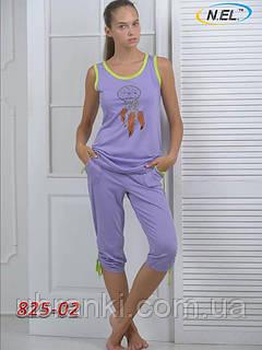 Женский ночной комплект с бриджами