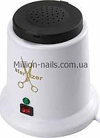 Стерилізатор для манікюрних інструментів кварцитовий металевий корпус YM-9008, фото 1