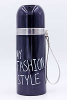 Термос стальной(350ml) MY FASHION STYLE 2476-ВК черный