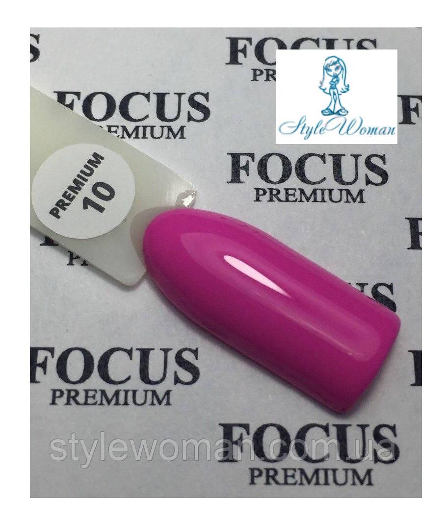 Гель лак Focus Premium от Oxxi 8мл №10