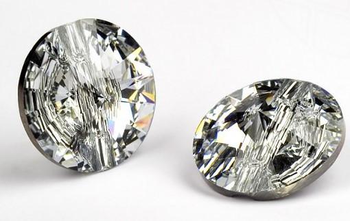 Полуножка 3015, 18mm, Crystal (001)