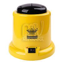 Кварцевый (шариковый) стерилизатор Master Professional для косметологических инструментов, желтый