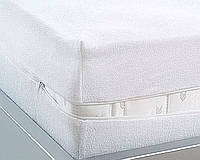Непромокаемый чехол  Aress Premium из хлопка, на молнии 160х200