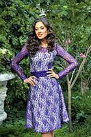 Платье женское гипюровое Оливия Ян