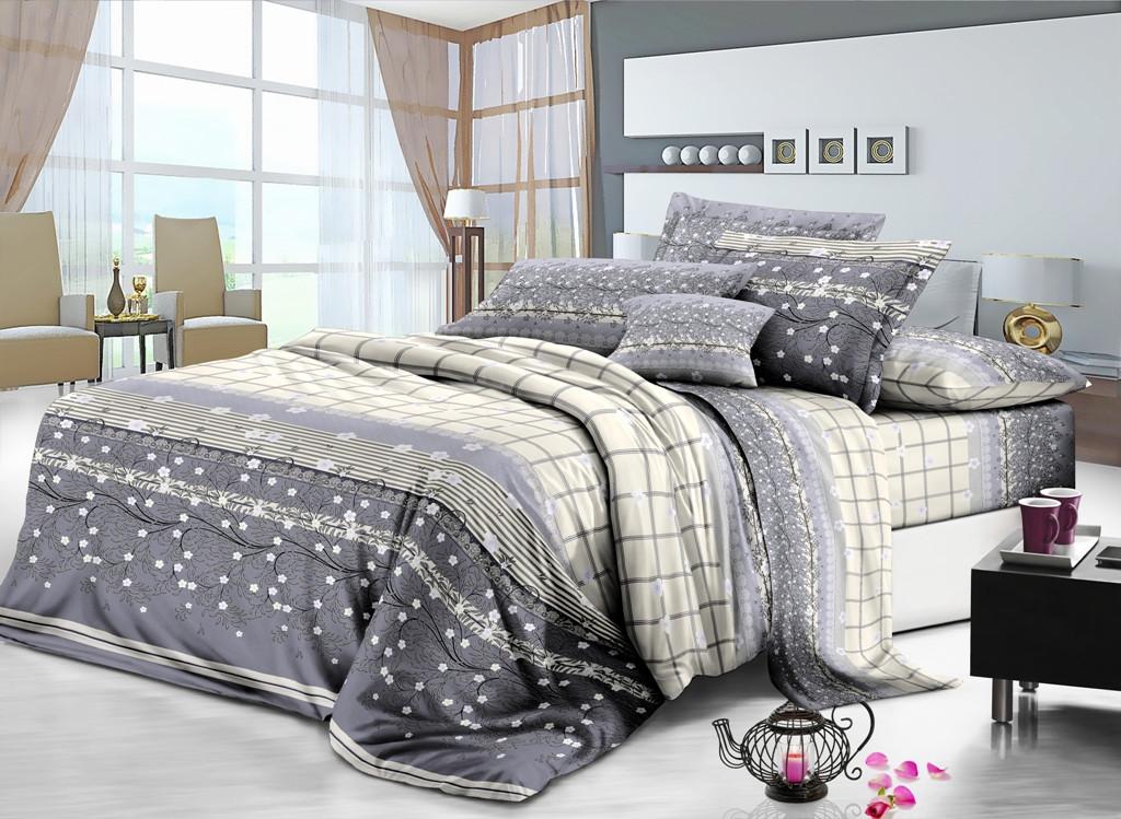 Двуспальный комплект постельного белья Монако ( наволочки 50х70)