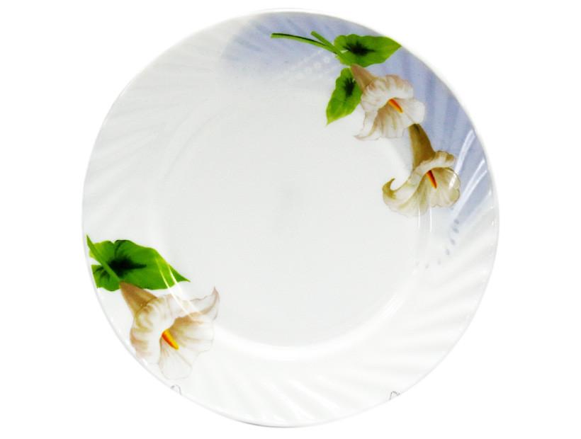 Тарелка Ø 20 см Каллы 1073