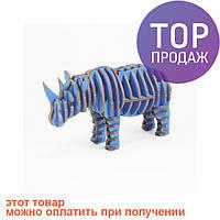 3D пазл Носорог / Оригинальные подарки