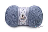 Alize Lanagold 800, светлый джинс №221