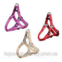 Шлейка L усиленная для собак, 65 - 80см/25мм, цвета в ассортименте, фото 3