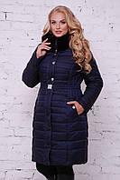 Женское теплое пальто, в расцветках, р.р 50-58