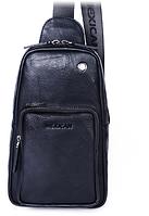 Мужская кожаная сумка. Модель 61330, фото 5