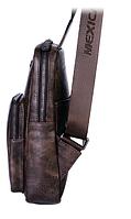 Мужская кожаная сумка. Модель 61330, фото 6